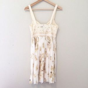 Anthropologie Dresses - Anthro Deletta Tea and Sweets floral dress
